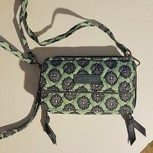 Vera Bradley crossbody wallet for cell phone